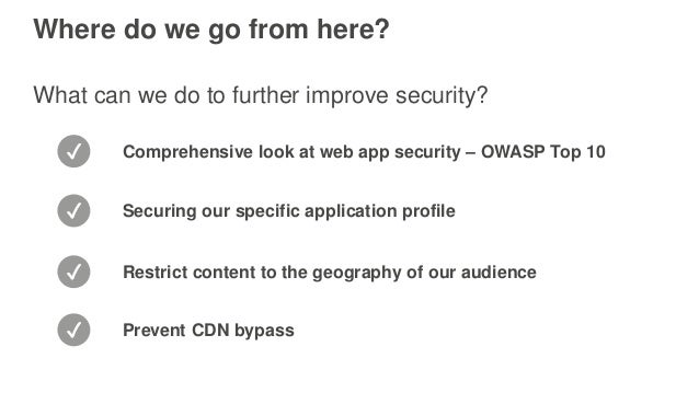 how to secure your web application