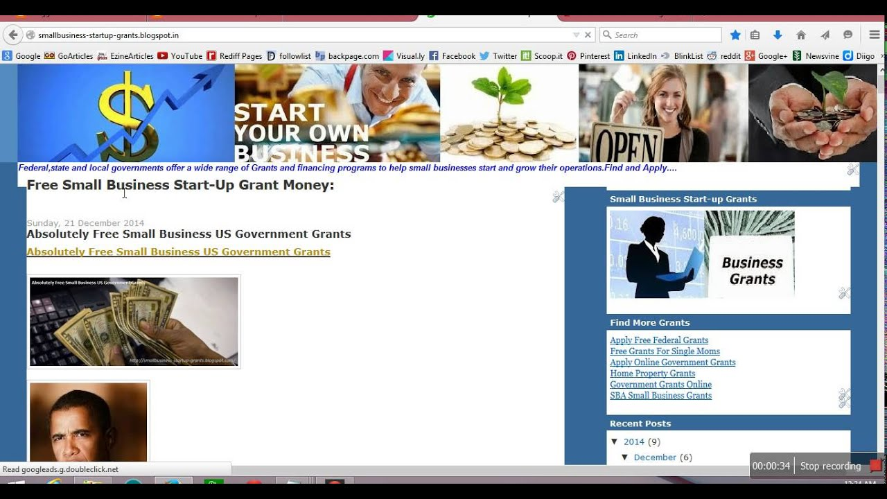 free grant money from the government application