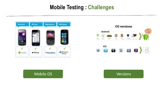 mobile testing challenges for native applications